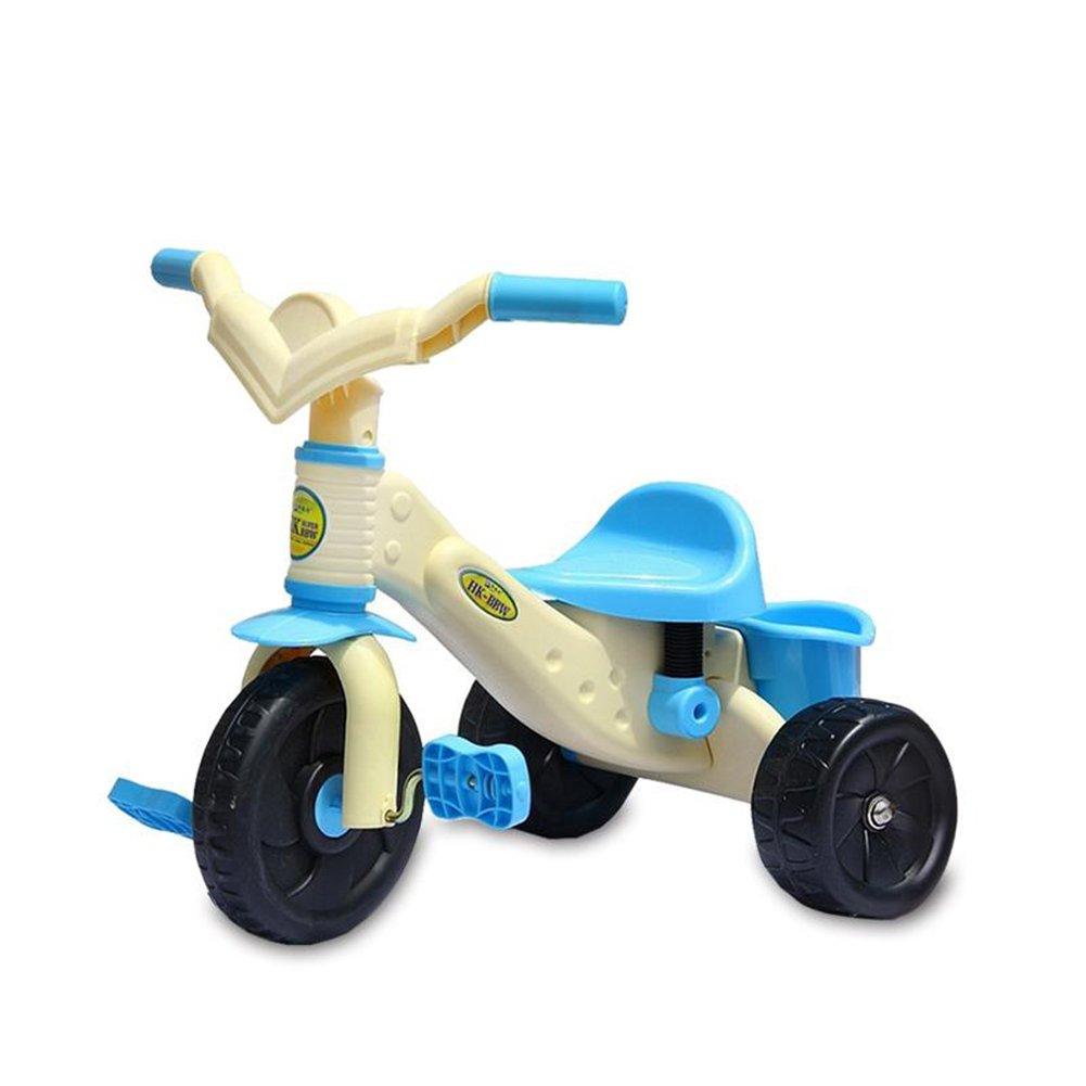 XQ 子供 軽量 EVA発泡ホイール 三輪車 1-3-5歳 子ども用自転車 ( 色 : Yellow and blue ) B07C77GY4Vyellow and blue