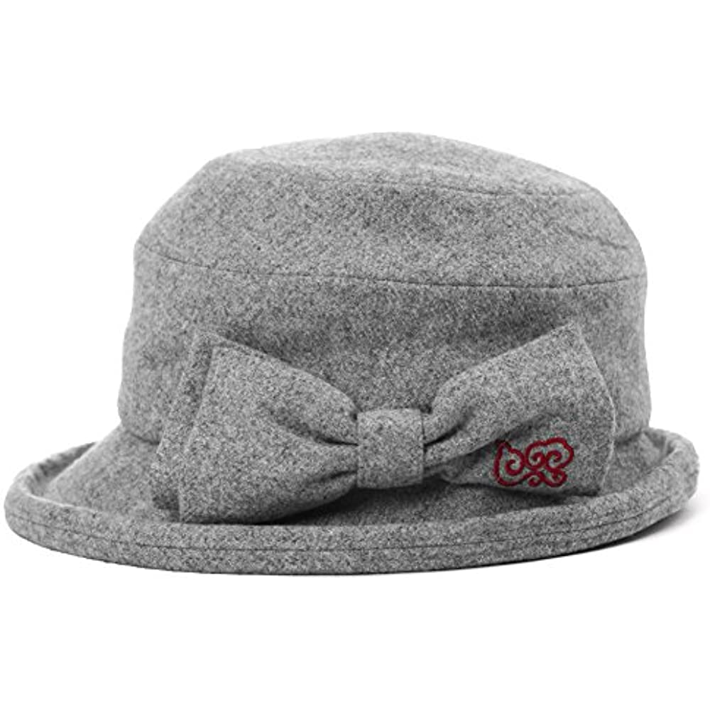 1c2f720d8a1 Details about Womens Cloche Hats Ladies Wool Winter 1920s Vintage Derby  Church Bowler Bucket