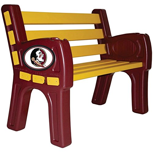 IMPERIAL INTERNATIONAL FLORIDA STATE SEMINOLES PARK BENCH by Imperial