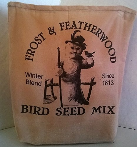 Amazon com: 000 – Frost & Featherwood Bird Seed Mix Fabric Feed Sack