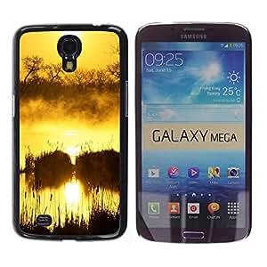 "For Samsung Galaxy Mega 6.3 , S-type Sunset Beautiful Nature 50"" - Arte & diseño plástico duro Fundas Cover Cubre Hard Case Cover"