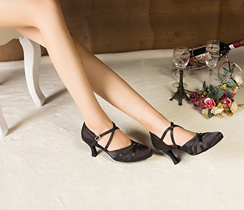 Miyoopark - salón mujer, color negro, talla 35