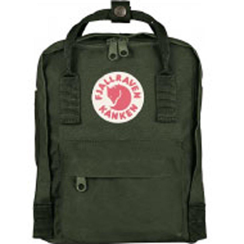(フェールラーベン) FJALL RAVEN カンケン バッグ 7L カンケン ミニ リュック kanken mini bag バックパック リュック レディース ナップサック 通学 子供用 キッズ ナップサック 7L [並行輸入品] B0185A3TCM Forest.Green Forest.Green