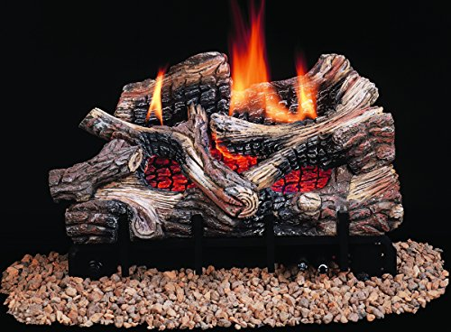 vent free gas logs with remote - 7