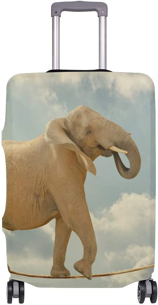 Elephant In Sky Walking On Rope Travellers Choice Travel Equipaje con Ruedas giratorias Maleta de Equipaje de 20 Pulgadas