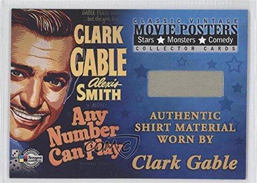Clark Gable (Trading Card) 2009 Breygent Classic