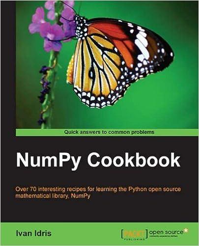 NumPy Cookbook, Ivan Idris, eBook - Amazon com