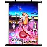 Beyond the Boundary (Kyoukai no Kanata) Anime Fabric Wall Scroll Poster (16x24) Inches. [WP] Beyond the Boundary -17