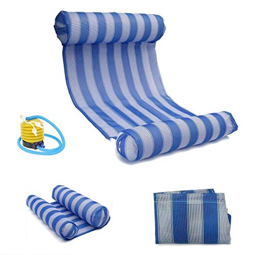- Seatour Water Hammock Pool Lounger Float Hammock Inflatable Rafts Swimming Pool Air Lightweight Floating Chair Compact