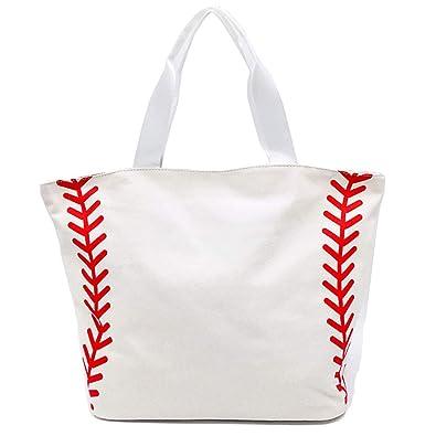 Amazon.com: Bolsa de encaje con diseño de media béisbol de ...