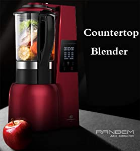 ALK Professional 62oz Countertop Blender with 1000-Watt Base and Total Crushing Technology for Smoothies, Ice and Frozen Fruit (1.75L)