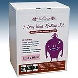 Balliihoo Homebrew Home Brew & Wine Making - VinClasse Rose Wine 7 Day (Sugar Required) Ingredient Kit For 30 Bottles