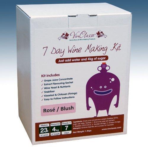 Rose Wine Making Kit