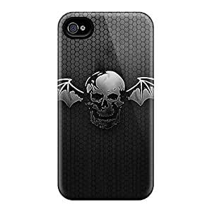 Luoxunmobile333 Ipod Touch 5 Hybrid Tpu Cases Covers Silicon Bumper Avenged Sevenfold