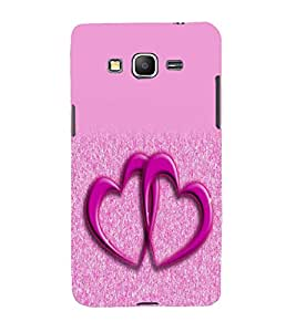 printtech Heart Couple Back Case Cover for Samsung Galaxy Grand Prime G530h