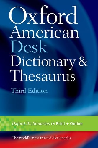 Expert choice for oxford dictionary and thesaurus hardcover
