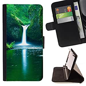 Jordan Colourful Shop - Nature Falls Beautiful Waterfalls For LG G3 - Leather Case Absorci???¡¯???€????€??????????&