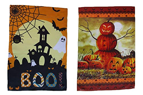 Missouri Valley Halloween Parade (ALBATROS 12 inch x 18 inch Happy Halloween #20 Vertical Sleeve Flag for Garden for Home and Parades, Official Party, All Weather Indoors)