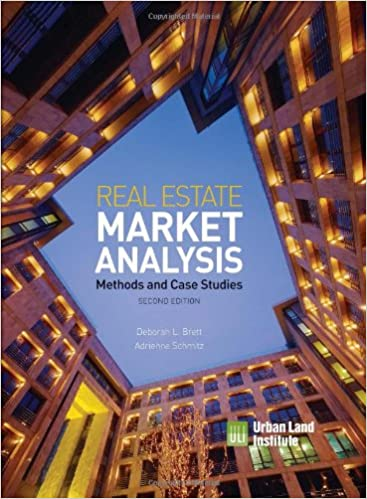 Real Estate Market Analysis: Methods and Case Studies, Second ...