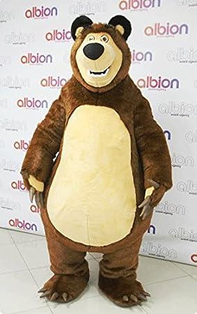 Personaje Masha Oso Grizzly Osa de la Mascota de la Historieta del ...