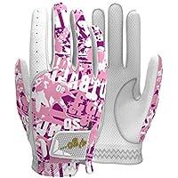 Vgo... Juniors Leather Golf Glove, Cabretta Leather Palm Patch (1 Pair, Juniors Size: XS, S, M, L)