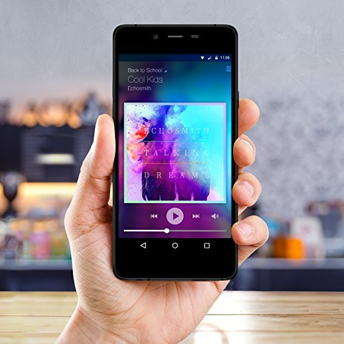 BLU Vivo Air LTE Smartphone - GSM Unlocked - Black