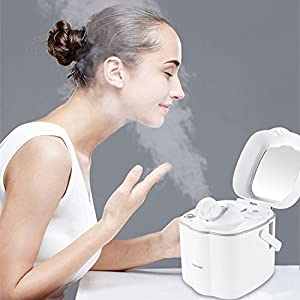 KINGDOMBEAUTY steamer Facial Steamer Spa Quality Hot Mist Moisturizing Clear Blackheads Acne Humidifier Sauna Spa System Skin Care Facial Atomizer Warm Mist Face Sprayer