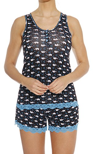 York New Stores Clothing Women ( Christian Siriano New York Women Sleepwear / Short Sets / Woman Pajamas,Ellie,Small)