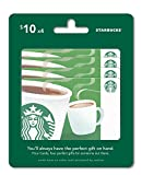 Starbucks Gift Cards, Multipack of 4 - $10 Review and Comparison