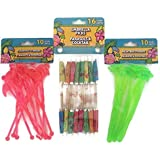 Tropical Luau Themed Swizzle Stick Party Bundle- 3 Items: One Pack Umbrella Picks, One Pack Palm Tree Stirrers and One Pack of Flamingo Stirrers