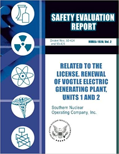 Book for download as pdf Safety Evaluation Report Related to the License Renewal of Vogtle Electric Generating Plant, Unit 1 and 2 in Finnish PDF DJVU FB2 1500153753