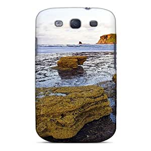 For Galaxy Case, High Quality Beautiful Bay In Yorkshire Engl For Galaxy S3 Cover Cases