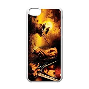 Pirates of the Caribbean iPhone 5c Cell Phone Case White Phone cover V92785320
