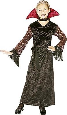 Disfraz de Vampiresa para niña, vestido de terciopelo, infantil 3 ...