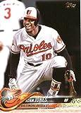 2018 Topps #142 Adam Jones Baltimore Orioles Baseball Card