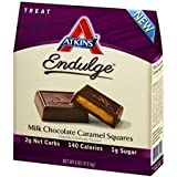 Atkins endulge pieces - milk chocolate caramel squares - 6.1 Ounce