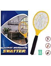 Zenoplige Bug Zapper, AA Battery Fly Zapper Racket Electric Bug Mosquito Swatter for Indoor and Camping Pest Control