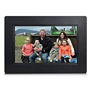 "[LATEST UPDATE] 7"" Smart WiFi Cloud Digital Photo Frame - includes 5GB free Cloud storage, iPhone & Android APP, Facebook, Dropbox, Real-time photos, Movie Playback"