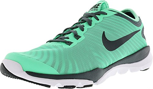 Entrenador cruzado Nike Womens Flex Supreme TR 4 (8.5 B (M) US, Green Glow)