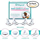 Baby & Child Proof Magnetic Safety Lock - Fits Your Drawer, Cabinet Or Door - 12 Locks And Latches + 2 Keys - Complete Home Proofing Kit - Drill Free - Extra Strong Adhesive - Easy & Fast Installation