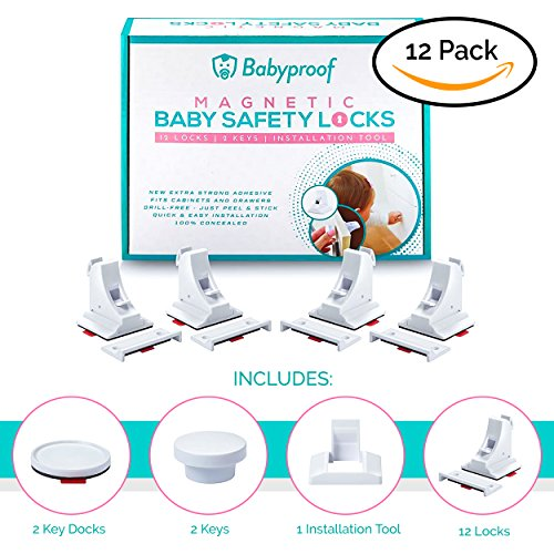 Babyproof Baby & Child Proof Magnetic Safety Locks