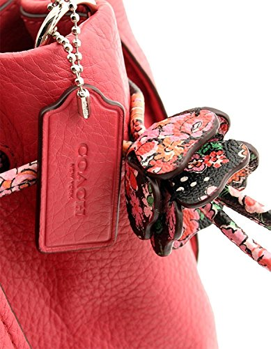 Floral Leather Bag F57544 Red Crossbody Printed Petal COACH Mix x7qdwOtaa