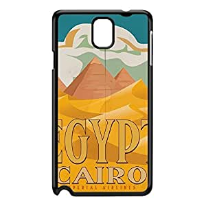 Egypt Black Hard Plastic Case for Galaxy Note 3 by Nick Greenaway + FREE Crystal Clear Screen Protector