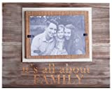 Mud Pie All About Family Photo Frame