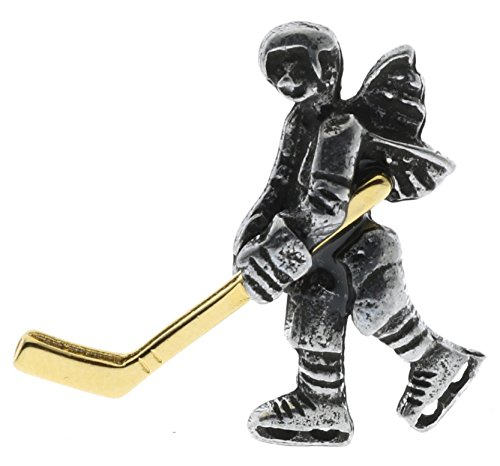 - Sujak Military Items Hockey Player Angel Hat Lapel Pin Binghockey