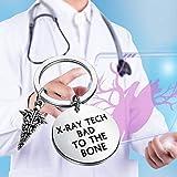LQRI Radiology Keychain Radiology Technologist Gift