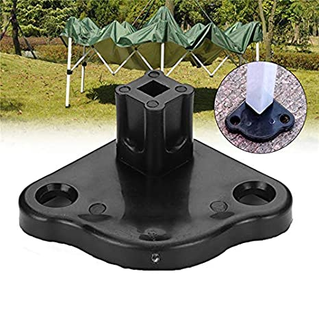 TENGGO Tent Feet Base Camping Tent Feet Clamp Gazebo Replacement Base Outdoor Tent Accessories