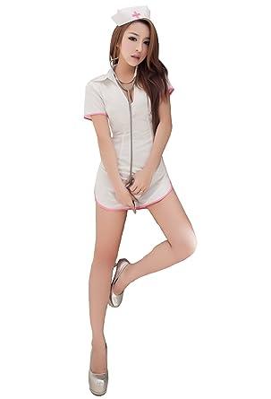 Amazon.com: lingeriecats Sexy nublado Soft 5pcs Enfermera de ...