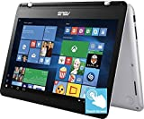 Asus 13.3'' Full HD IPS Touchscreen 2-in-1 Laptop, Intel Dual-Core i5 7200U up to 3.1GHz, 8GB DDR4, 256GB SSD, Intel HD Graphics, 802.11ac, Bluetooth, HDMI, Backlit Keyboard, Fingerprint Reader, Win 10