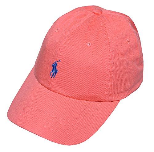 Polo Ralph Lauren Men's Pony Logo Hat Cap Fiery ()